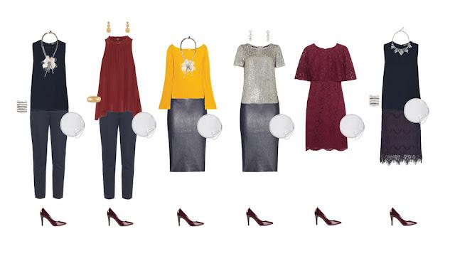 Нарядные комплекты капсульного гардероба