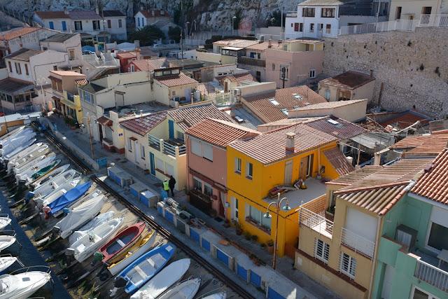 Vallon des Auffes Marseille