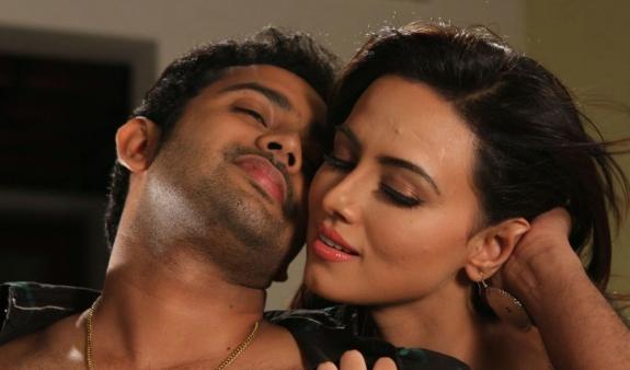 Sana khan hot photos in nadigayin dairy tamil movie