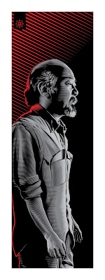 Jeff Boyes Mr. Miyagi Karate Kid Art Print