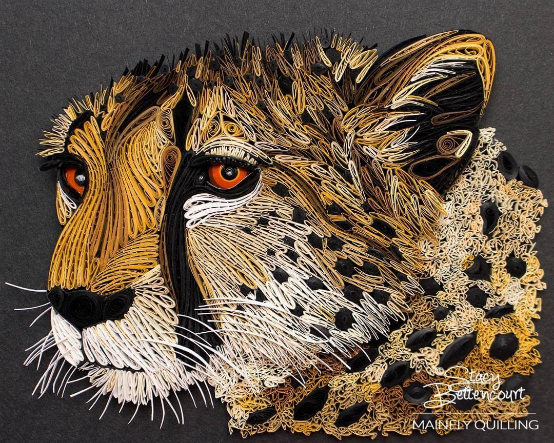 04-Cheetah-Stacy-Bettencourt-Quilling-Animals-and-Game-of-Thrones-www-designstack-co