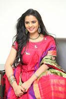 Manasa in Pink Salwar At Fashion Designer Son of Ladies Tailor Press Meet Pics ~  Exclusive 46.JPG