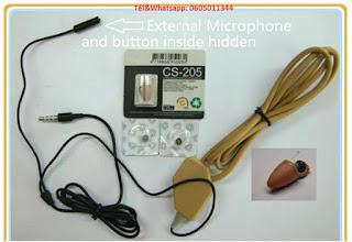 écouteur sans fil ( oreillette espion )