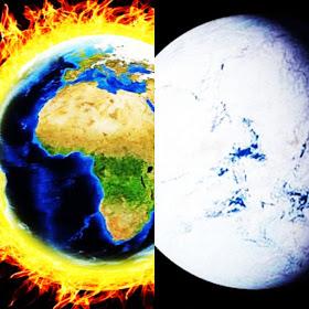 afirman que la temperatura global total está a punto de caer en picado en cuestión de meses.