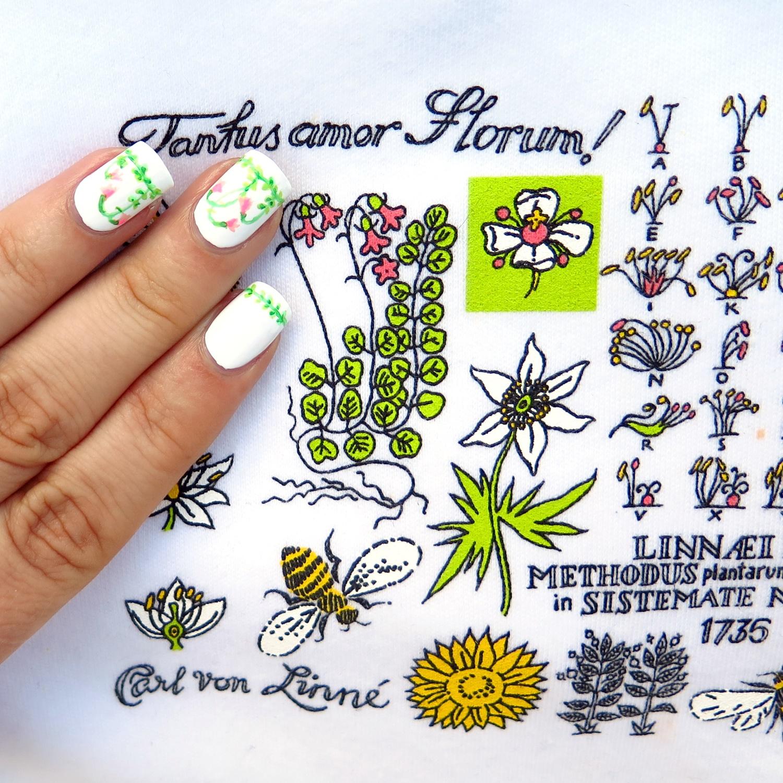 Wiosenne inspiracje ze Szwecji w zdobieniu paznokci - część 2
