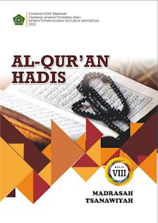 Buku Al Quran Hadis Kelas 7, 8, 9 SMP/MTs Kurikulum 2013 Revisi 2020