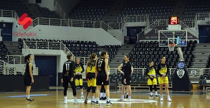 Φωτορεπορτάζ του www.grspotakia.gr από τον αγώνα νεανίδων ΠΑΟΚ-Αρης
