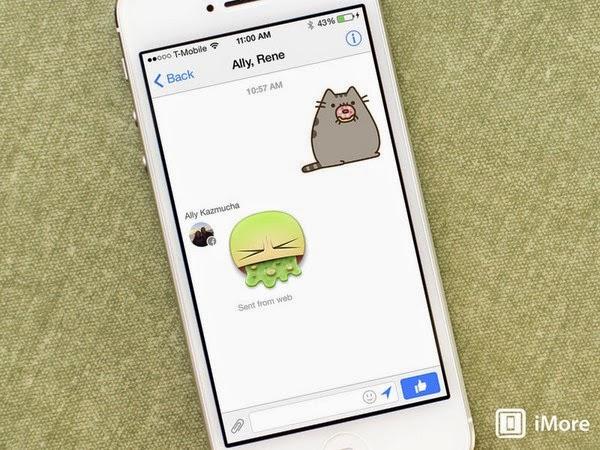 Facebook messenger trình làng