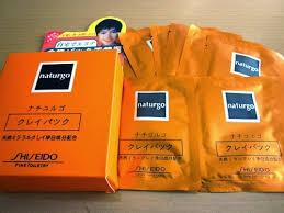 jual harga grosiran masker naturgo asli shiseido