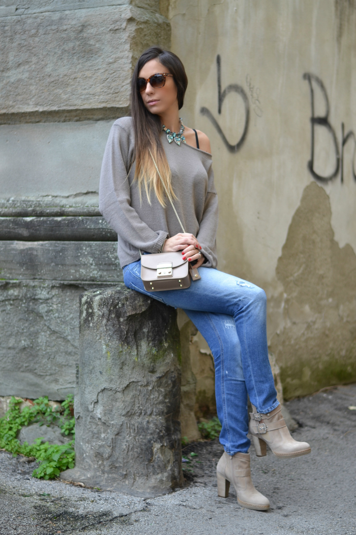 look jeans stivaletti
