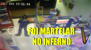 [VÍDEO] LADRÃO FOI ROUBAR E GCM SENTOU O AÇO