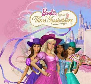 Barbie and the Three Musketeers (2009) Dual Audio [Hindi-English] [720p] HD 1
