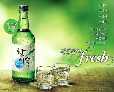 Văn hoá uống rượu soju của người Hàn