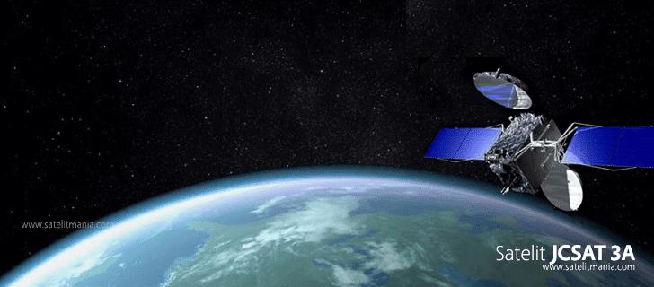 Transponder Satelit JCSat 3A