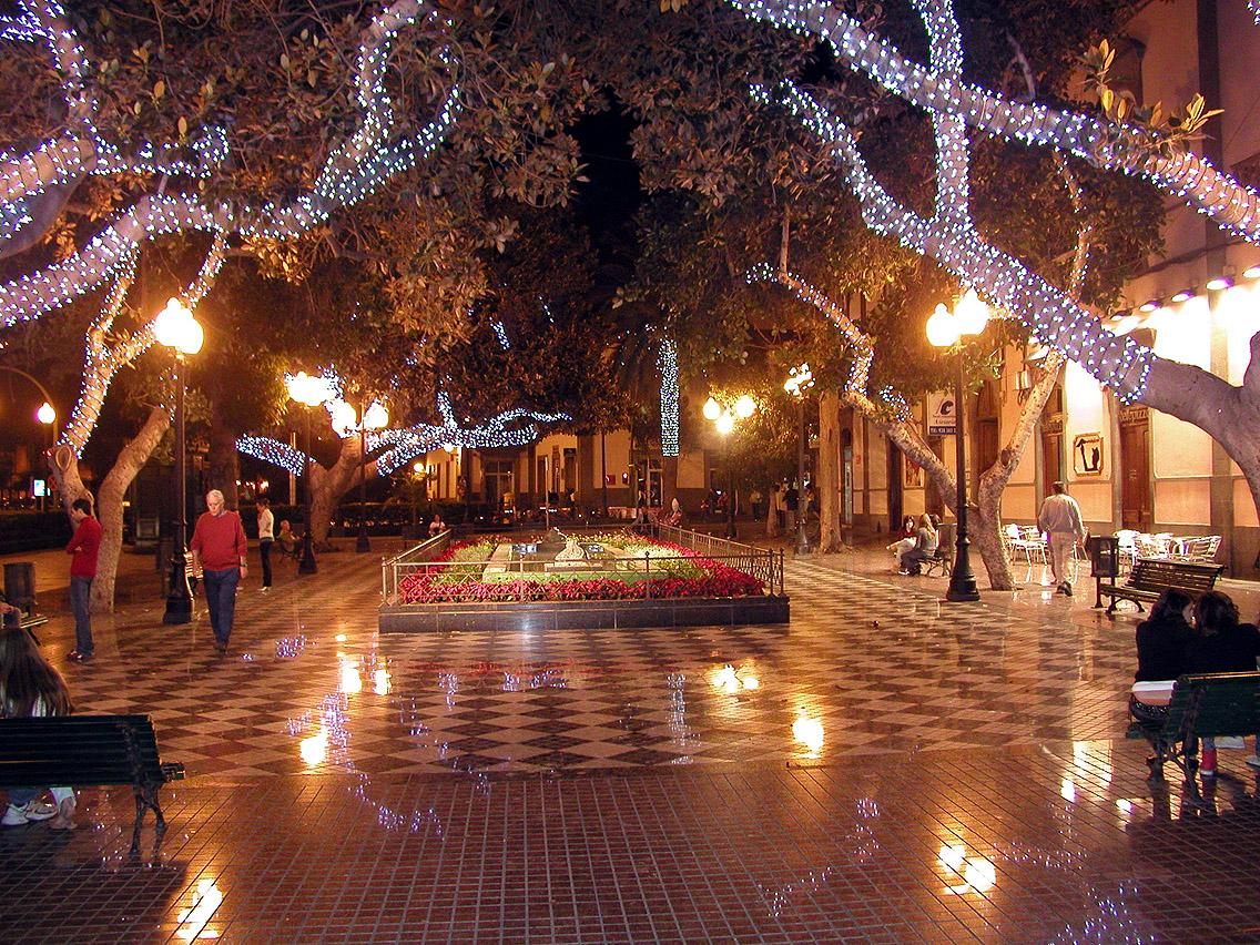 Kanarieöarna i jul