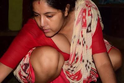 kolkata bengali boudi milky boobs image