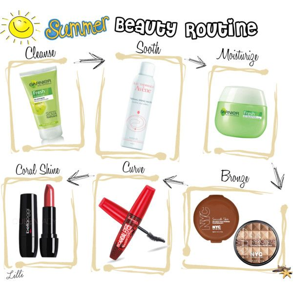Everyday Summer Beauty Routine