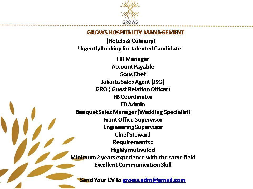 Management jobs in the caribbean