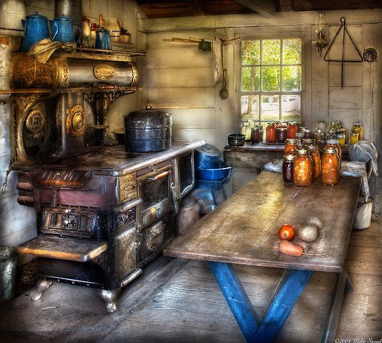 Country Kitchen Jobs: Suburban Scenes
