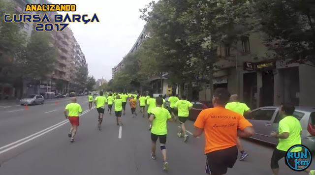 Analizando Cursa Barça 2017
