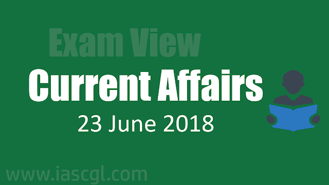 Current Affair 23 June 2018