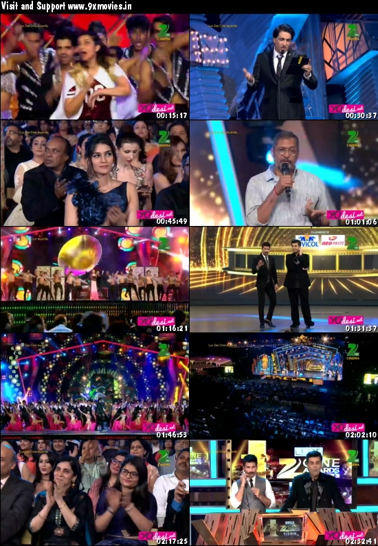 Zee Cine Awards 2016 Main Event 720p HDTV