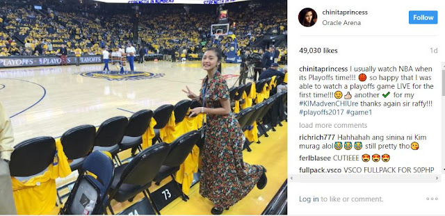 Kim Chiu Is Actually a Huge Fan of Basketball Player Stephen Curry! See Her Priceless Reaction Here!