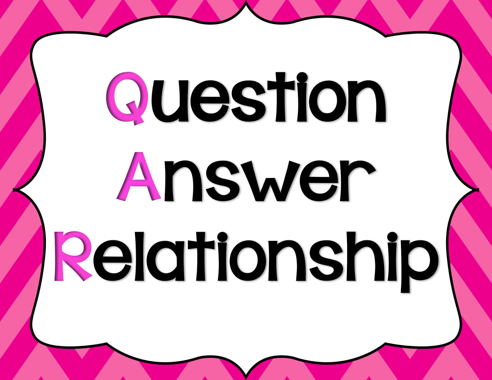 A Plus Clasroom Creations Qar Question Answer Relationship