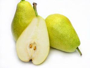 Pear Hijau -buah buahan mengandung serat tinggi
