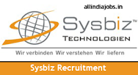 Sysbiz Technologies Recruitment