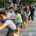 Walking street draws big crowds on weekend
