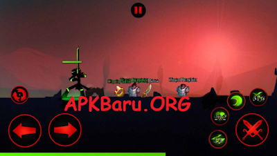 League Of Stickman Warriors v3.3.1 Mod Apk Terbaru (Free Shopping)