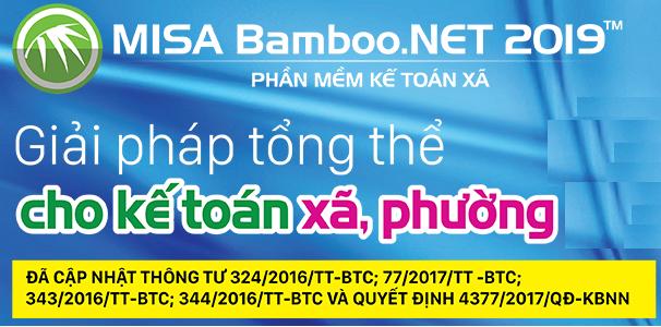 Link tải phần mềm kế toán xã MISA Bamboo.NET 2019