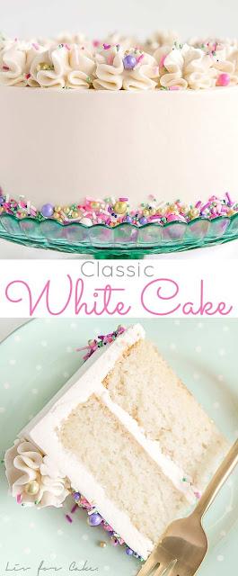 CLASSIC WHITE CAKE MIX IDEAS