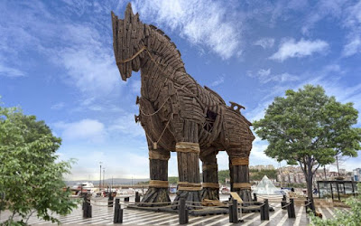 Sejarah Perang Troy The Torjan Horse