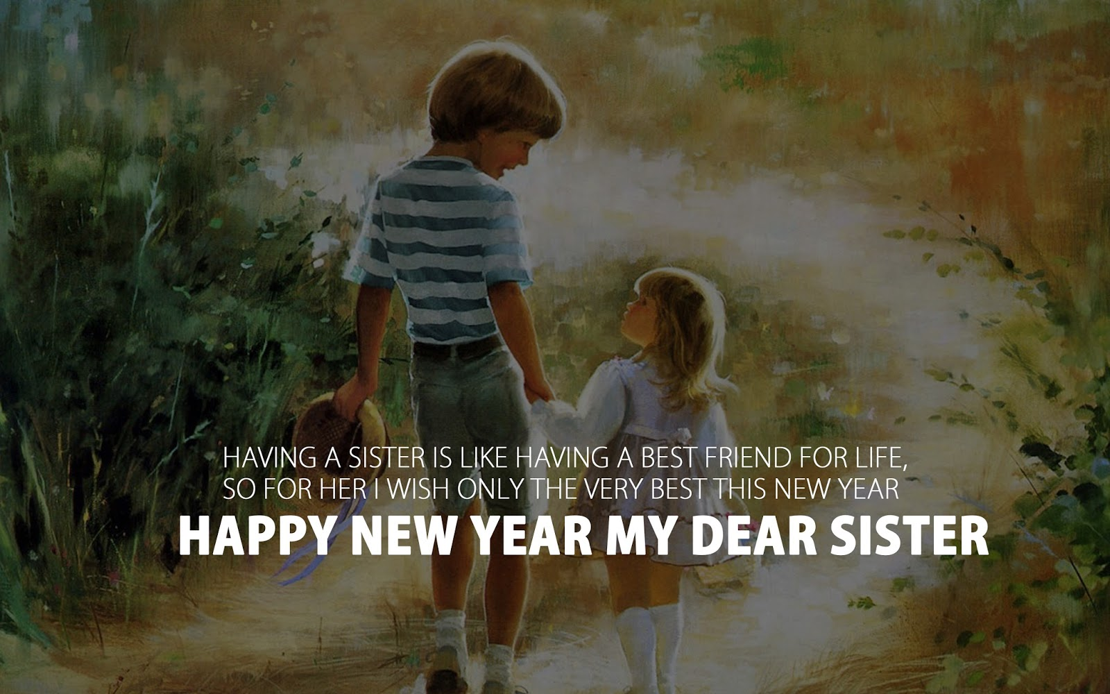 Happy New Year 2018 Images Wishes For Sister