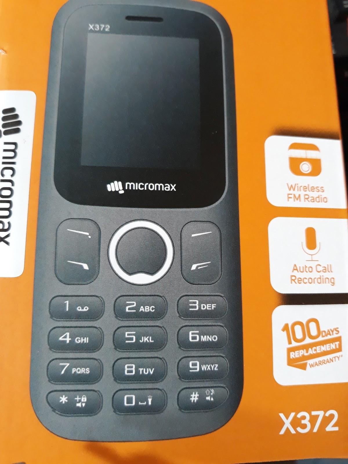 micromax x372 flash file mt-6261 no password - GSM TECH BD