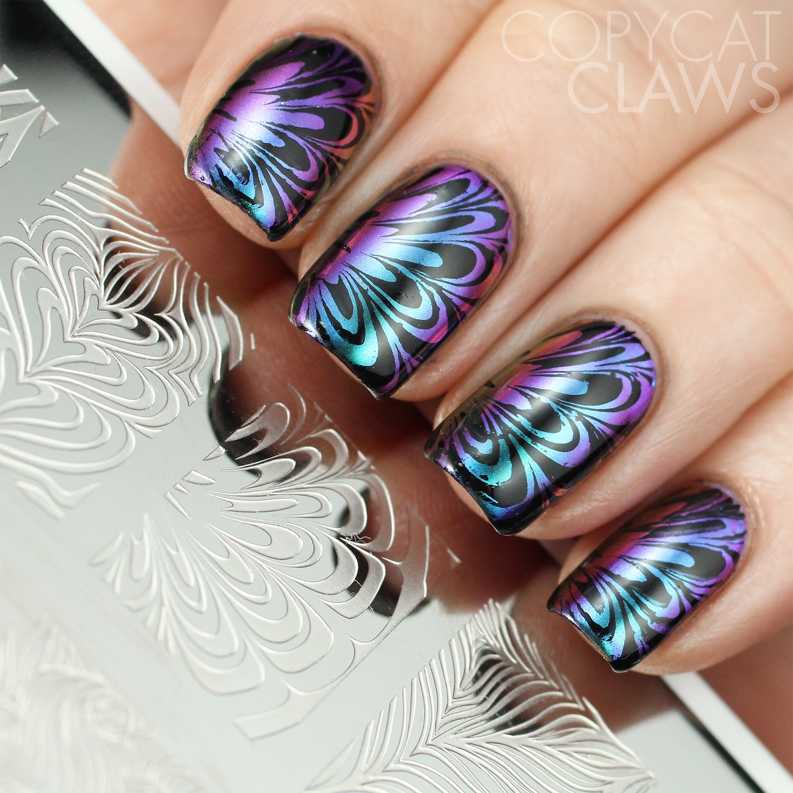 Copycat Claws: Whats Up Nails Paradise Powder and Water Marble ...