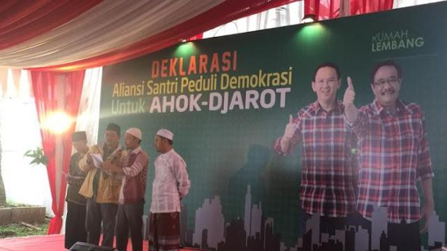 Forum Komunikasi Ukhwah Wathoniyah memberikan dukungan kepada calon pasangan Basuki Tjahaja Purnama alias Ahok dan Djarot Saiful Hidayat