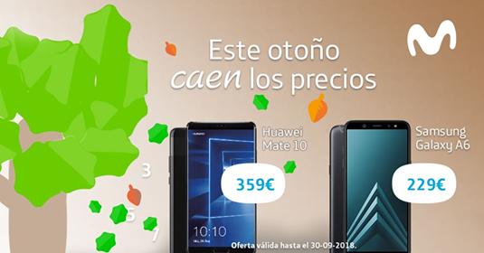 Movistar rebaja los precios de sus terminales