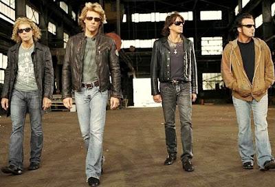 Foto de Bon Jovi caminando
