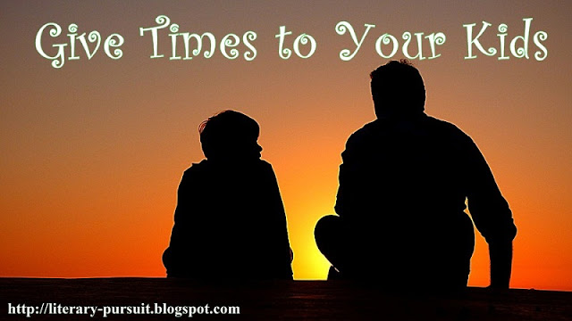 Give Times to Your Kidz: Motivational Story