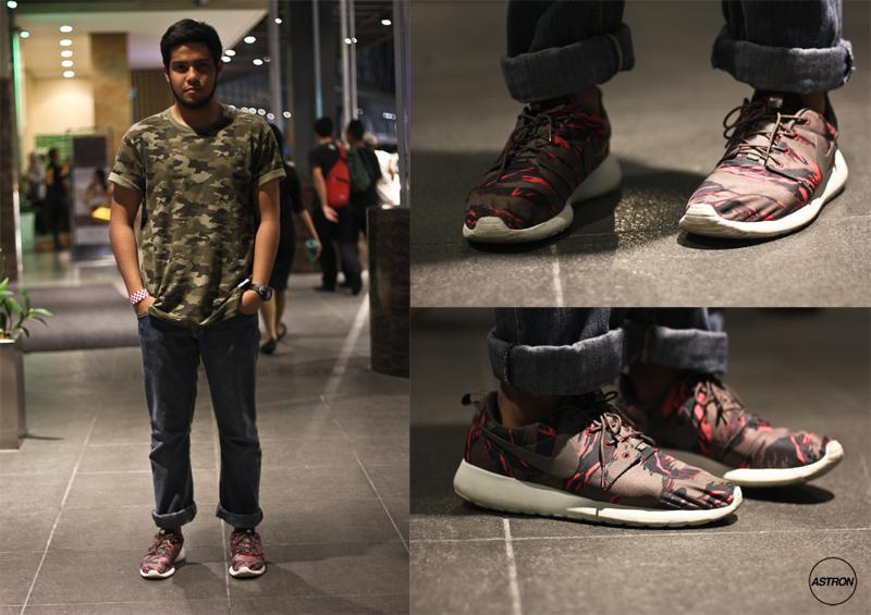hot sale online c09b8 0f00a Nike Roshe Run GPX - Tiger Camo