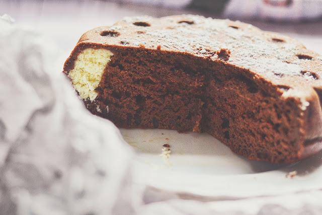 Smaczne ciasto z kakao