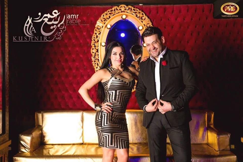 """بالصورة.....الراقصة الاوكرانية الا كوشنير تنتهي من تسجيل كليب جديد بعنوان """"الحنه في كعبك"""""""