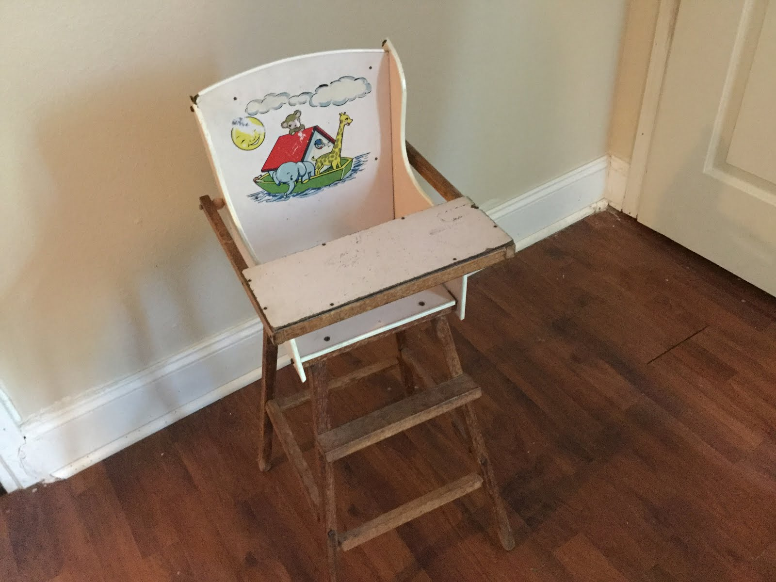 Vintage Baby High-Chair