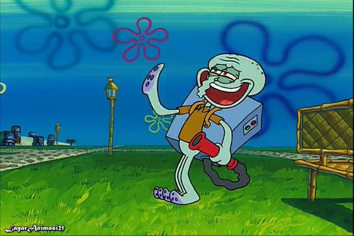 SpongeBob Season 2 Episode 6B - Squidville SD 480p Dub Indo