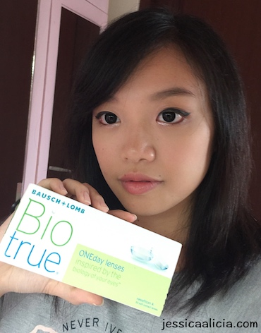 Review : Bausch+Lomb Biotrue Oneday Lenses by Jessica Alicia