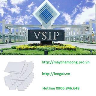 Bán thẻ cảm ứng tại KCN VSIP
