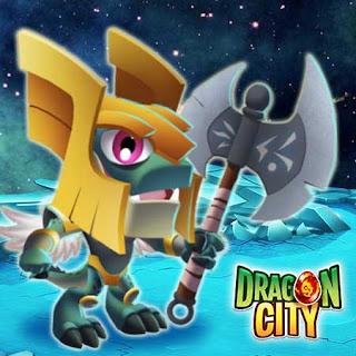 imagen de la oferta vip del dragon valiente de dragon city